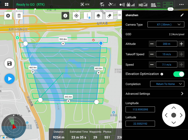 Elevation Optimization