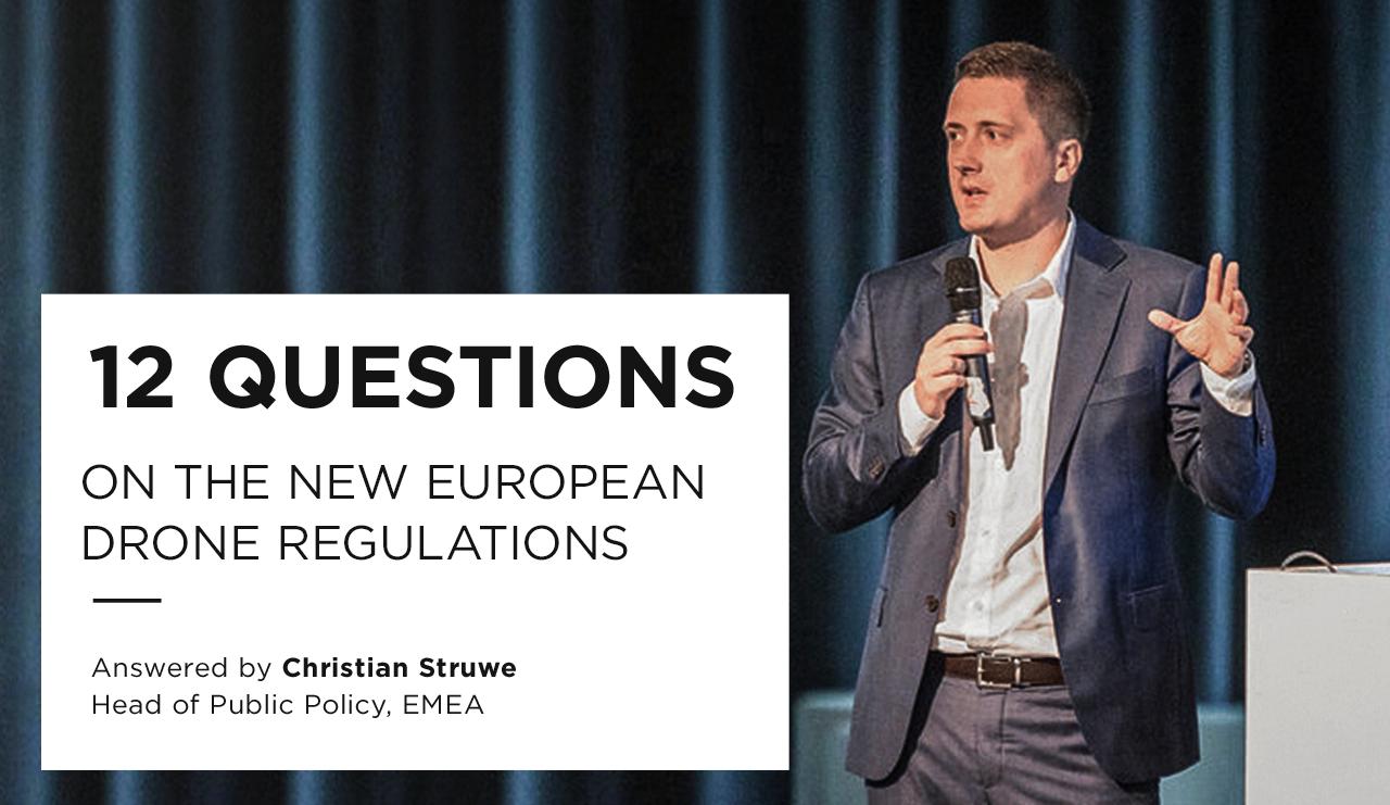DJI Christian Struwe on EASA policy