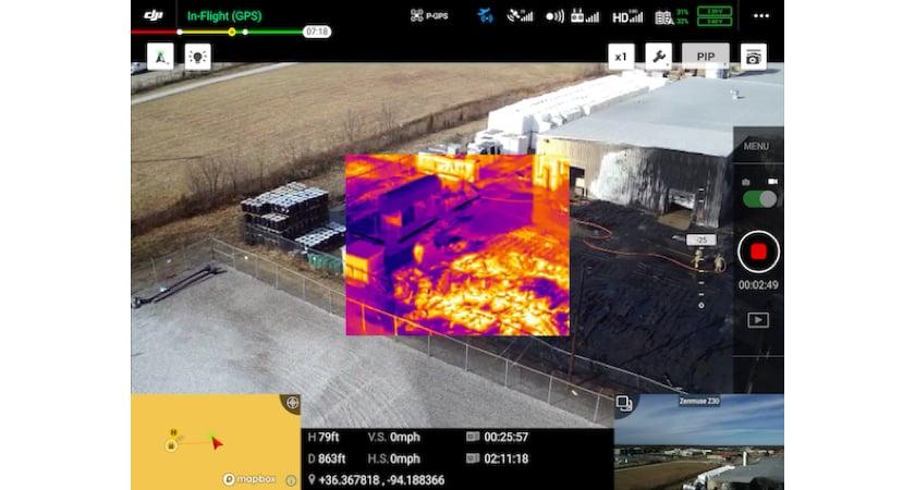 Bentonville thermal drones roundup DJI Pilot