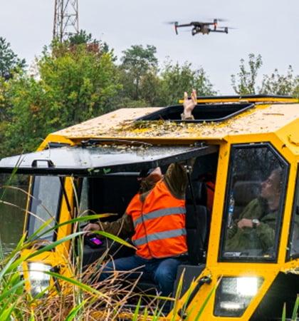 ATVs Drone Cockpit Launch 420x450