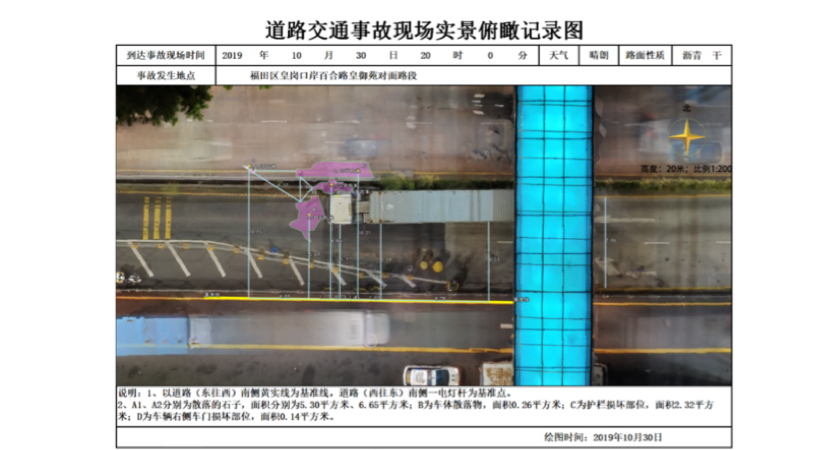 Accident Reconstruction SZ Police - Futian Accident Report