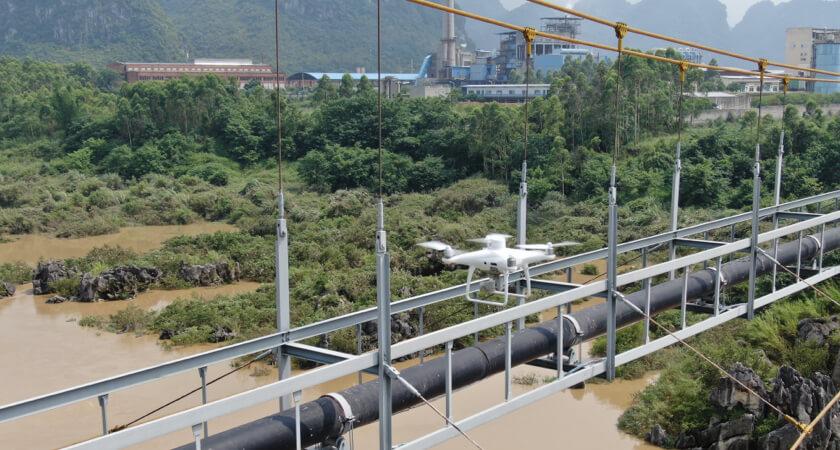 Automated Drone Bridge Inspection P4RTK