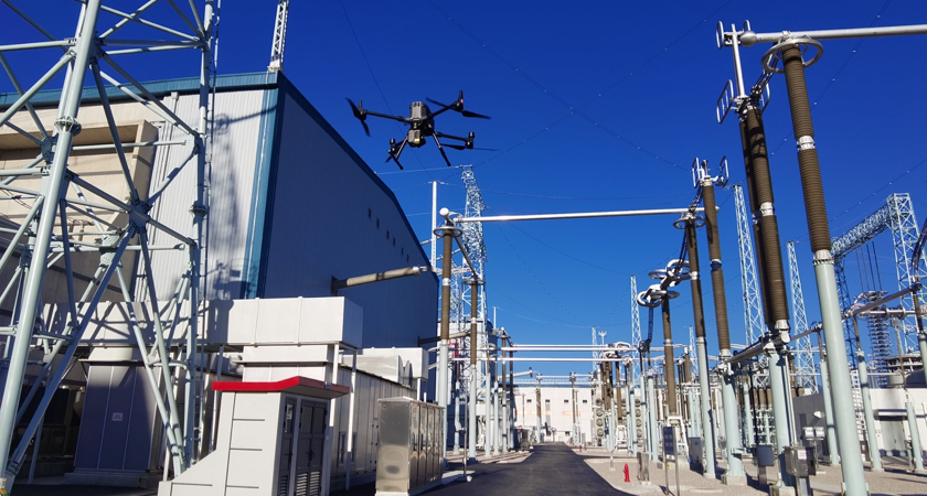 Automated Substation Inspection - M300 at Kunbei