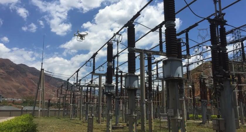 Automated Substation Inspection - P4 RTK