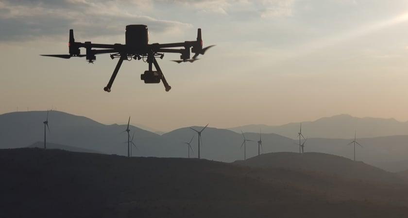 Drone Wind Turbine Inspection M300 H20T