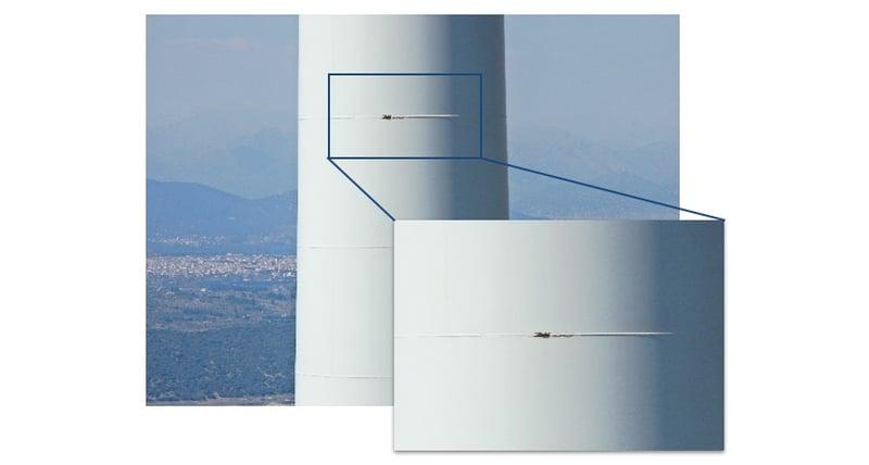 Wind Turbine Tower Detail