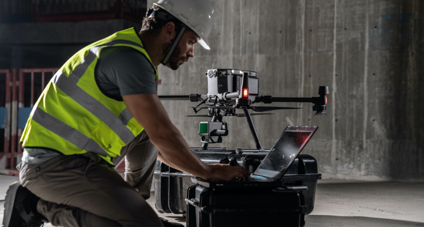 Commercial Drone Pilot with L1