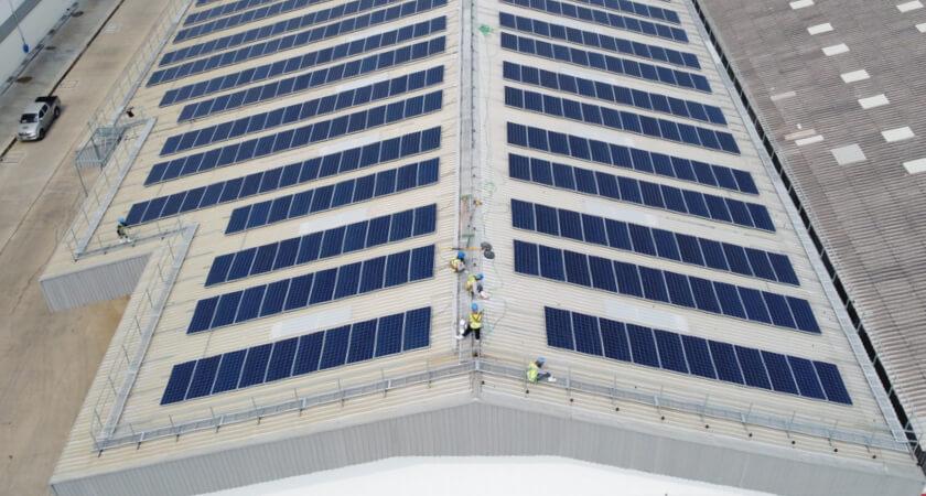 Roof Inspection solar installation