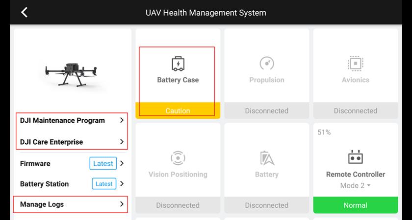 7. UAV Health Management