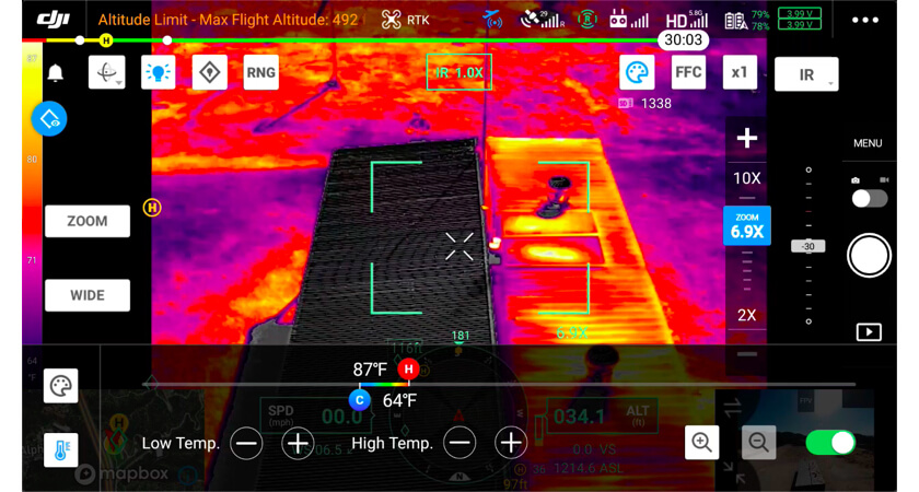 等溫用戶定義的溫度設置