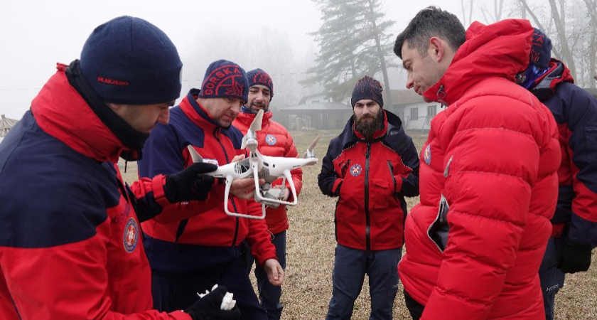 Search and Rescue Drones - Croatia Mountain Rescue