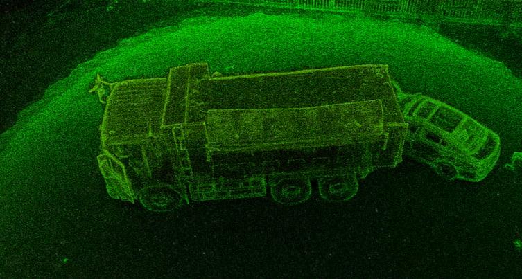 碰撞重建激光雷達