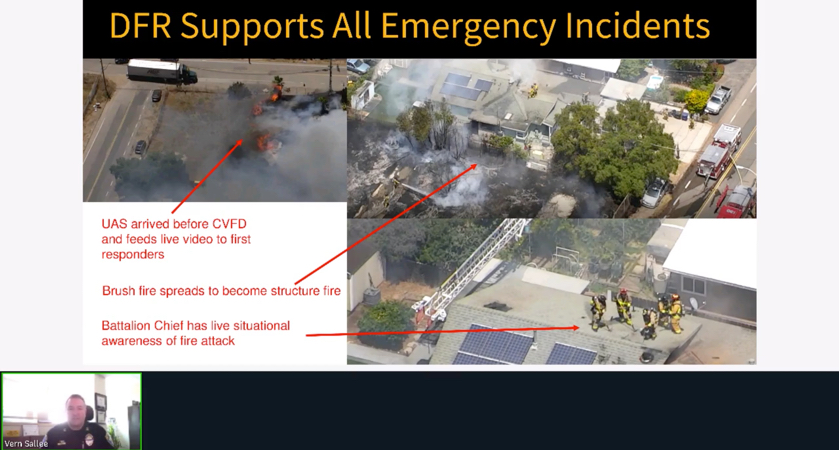 DFR Supports All Emergency Incidents