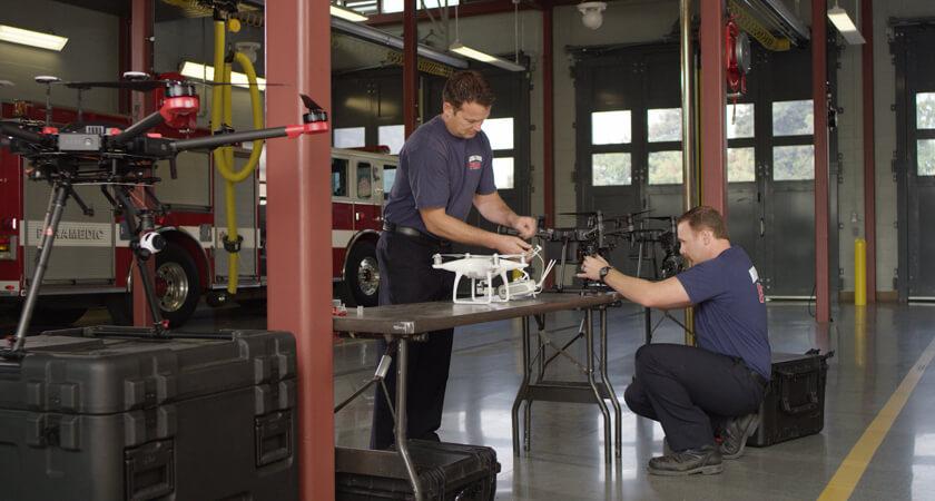 Fire Fighters Maintenance
