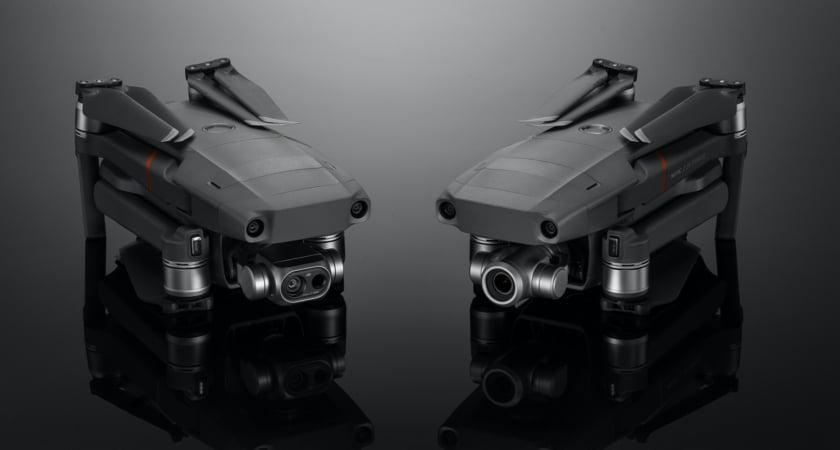 Mavic 2 Enterprise Dual and Zoom folded
