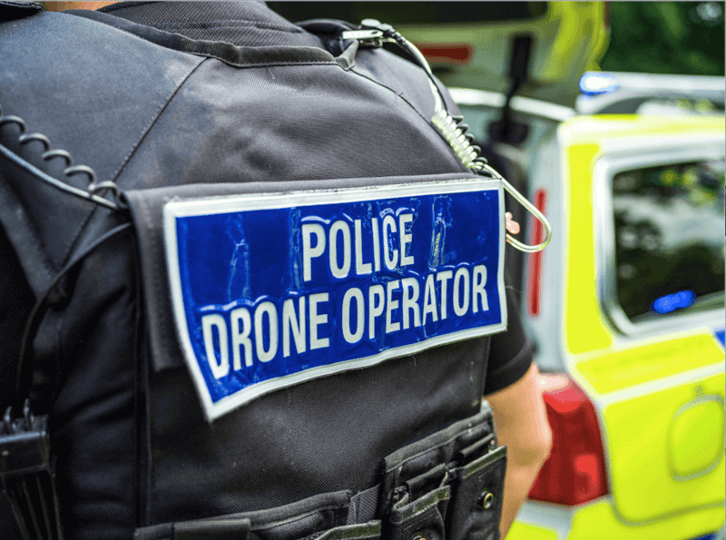 Drones in police operations require a specialized officer well-trained in drone operations