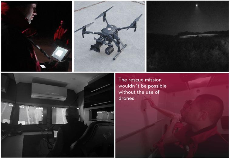 Croatian Mountain Rescue Using Drones for SAR
