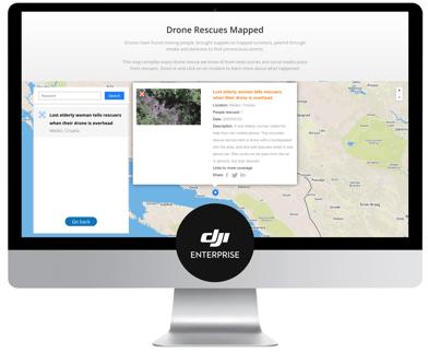 Drone Rescue Map