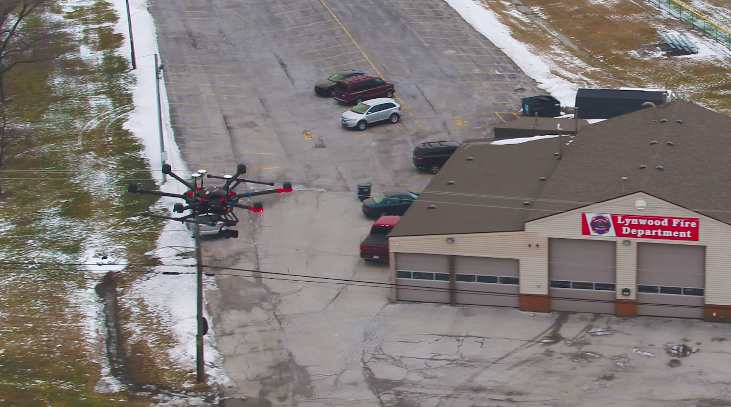 Lynwood sets up drone operations