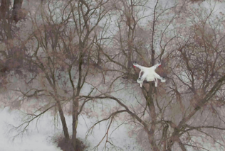 Drones flying to the rescue