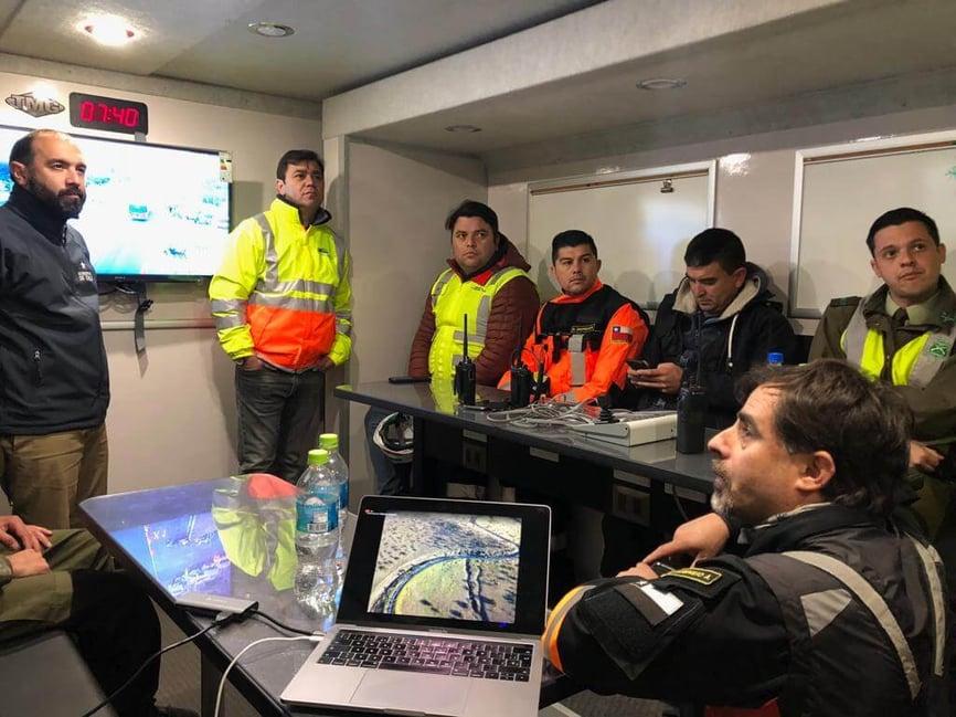 DroneSAR Chile team