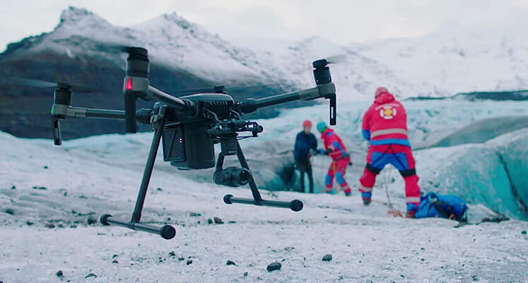 Winter M200 Search and Rescue